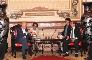 Fortalecen colaboracion ciudades de Vietnam y Belgica hinh anh 1