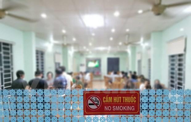 Promueve concurso de pintura en Vietnam la vida sin humo de tabaco hinh anh 1