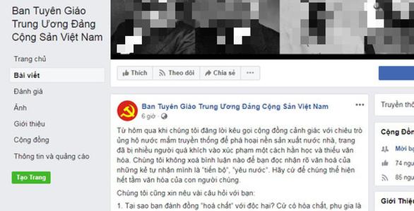 Piden en Vietnam estrictas sanciones por difundir falsas noticias en redes sociales hinh anh 1