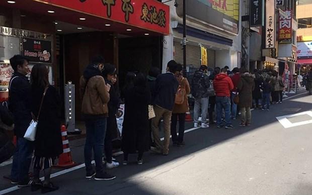 Inauguran con exito primer restaurante vietnamita de sopa Pho Thin en Tokio hinh anh 1