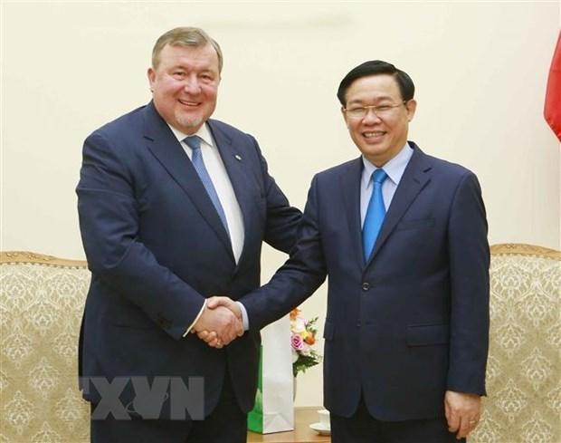 Vietnam promete ser miembro activo de Banco Internacional de Inversiones, afirma vicepremier hinh anh 1