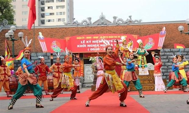 Celebran en Hanoi aniversario mil 979 de lucha de heroinas vietnamitas contra invasion extranjera hinh anh 1