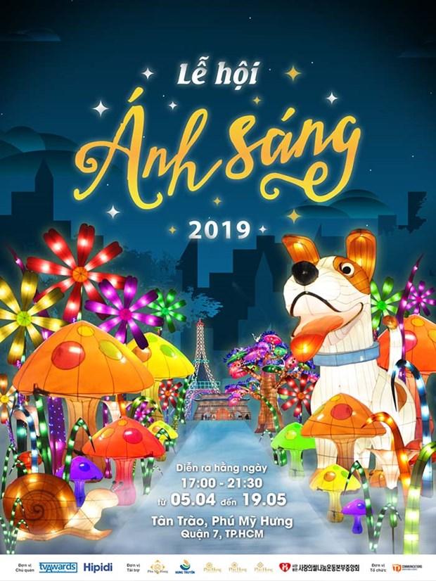 Anuncian en Vietnam proximo Festival de Iluminaciones 2019 hinh anh 1