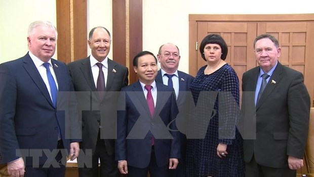 Fortalecen cooperacion Vietnam y Rusia hinh anh 1