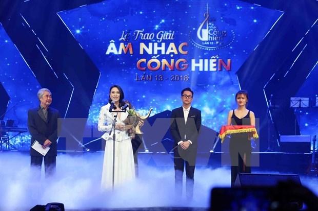 Entregaran en abril proximo premios musicales de la Agencia Vietnamita de Noticias hinh anh 1
