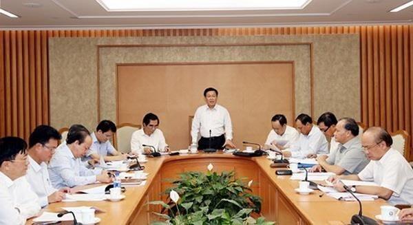 Pide vicepremier vietnamita un desembolso mas rapido de inversion publica hinh anh 1