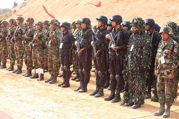 Realizan Camboya y China ensayos de lucha antiterrorista y ayuda humanitaria hinh anh 1