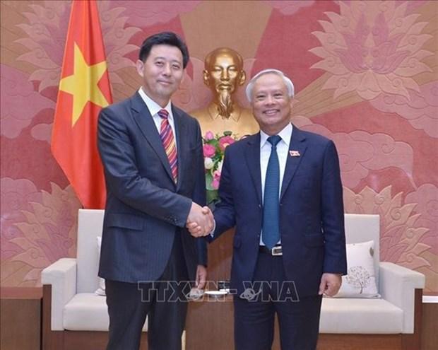 Vietnam aspira a fomentar la amistad tradicional con China, afirma vicepresidente parlamentario hinh anh 1