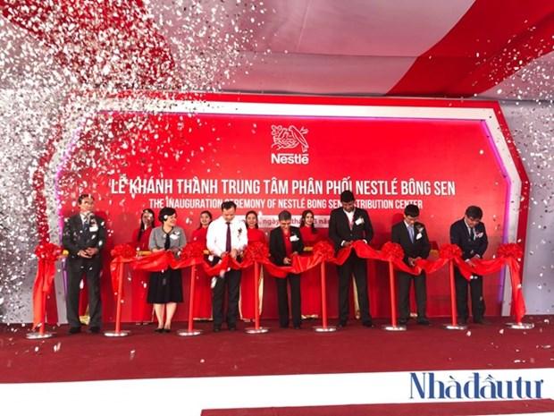 Inaugura la compania Nestle nuevo centro de distribucion en Vietnam hinh anh 1