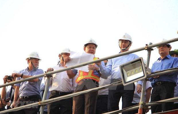 Aceleran proyecto para la prevencion de inundaciones en Ciudad Ho Chi Minh hinh anh 1