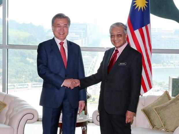 Corea del Sur y Malasia se comprometen a concluir las negociaciones de TLC este ano hinh anh 1