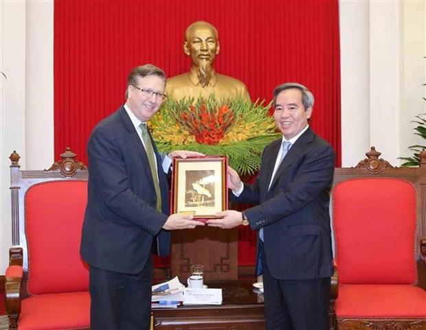 Ratifican papel de comunidad empresarial en desarrollo de relaciones Vietnam-EE.UU. hinh anh 1