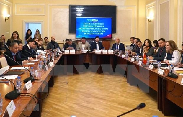 Profundizan cooperacion pequenas y medianas empresas de Vietnam y Rusia hinh anh 1