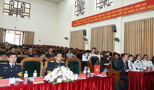 Impulsan Fuerzas Navales vietnamitas y japonesas el intercambio profesional hinh anh 1