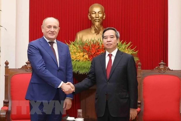 Destaca Vietnam el aporte de Gazprom al fomento de sus relaciones con Rusia hinh anh 1