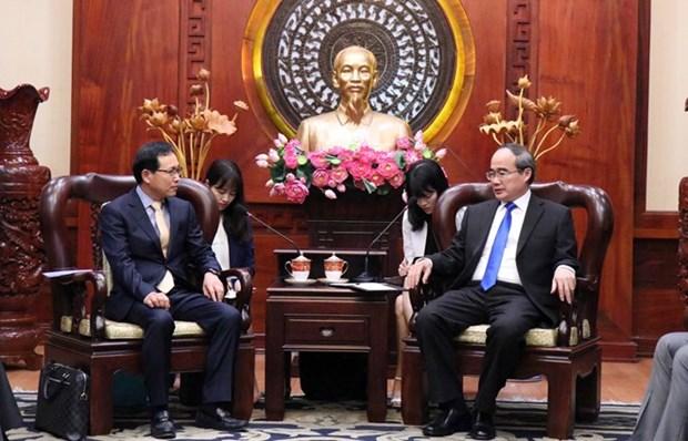 Aspira Ciudad Ho Chi Minh a recibir inversiones de Samsung para proyecto del Centro de Investigacion y Desarrollo hinh anh 1