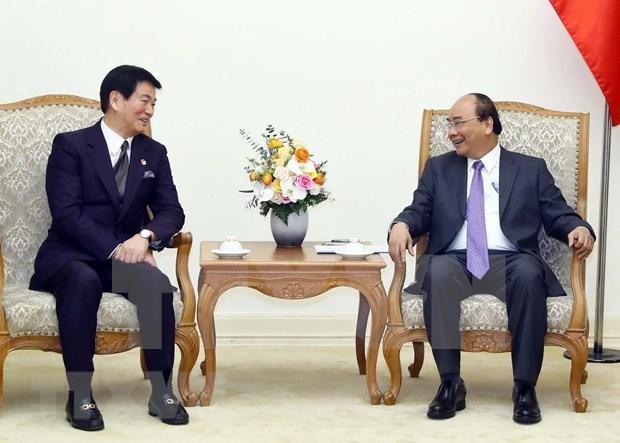 Destaca premier vietnamita apoyo de prefectura japonesa de Chiba a connacionales hinh anh 1