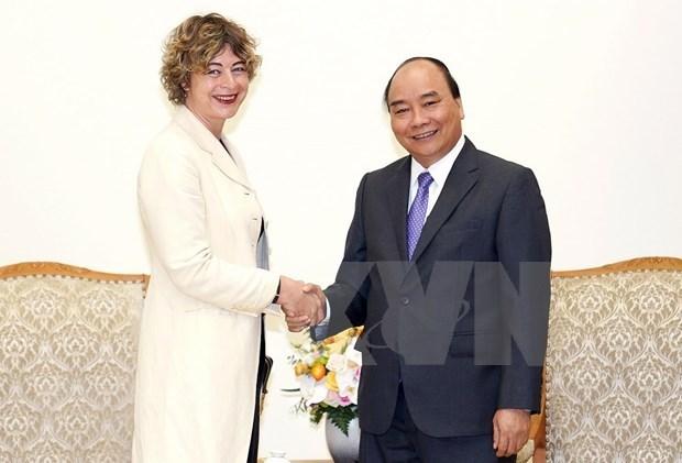Destaca premier vietnamita condicion de Paises Bajos como socio importante de la nacion indochina hinh anh 1