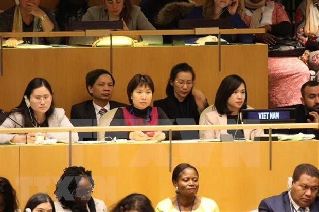 Organiza Vietnam evento en la ONU sobre el papel de las mujeres hinh anh 1