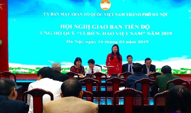 Recaudan en Vietnam mas de 1,3 millones de dolares para un fondo a favor del mar y las islas del pais hinh anh 1