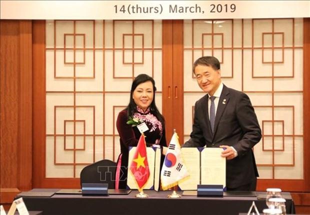 Fomentan Vietnam y Corea del Sur cooperacion en salud hinh anh 1