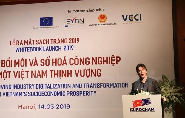 Realiza Camara Europea de Comercio propuestas para un mejor entorno de negocios en Vietnam hinh anh 1