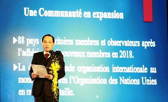 Promueven el desarrollo de idioma frances en Vietnam hinh anh 1