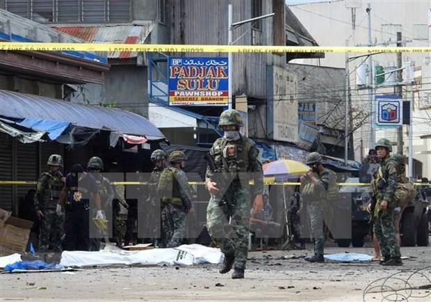 Enfrentamiento provoca numerosos muertos en el sur de Filipinas hinh anh 1