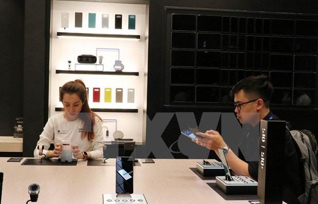 Inauguran Samsung espacio de exhibicion de alta tecnologia en Vietnam hinh anh 1
