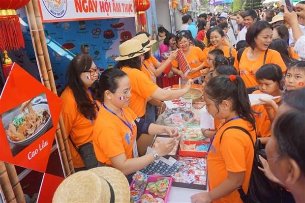 Celebran Dia Internacional de la Francofonia en Ciudad Ho Chi Minh hinh anh 1