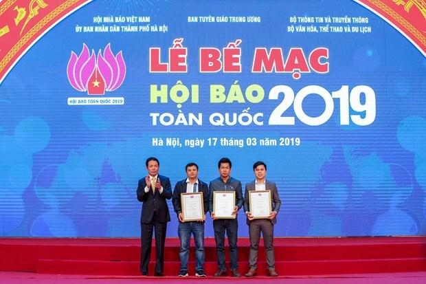 Concluye Festival del Periodismo de Vietnam 2019 hinh anh 1
