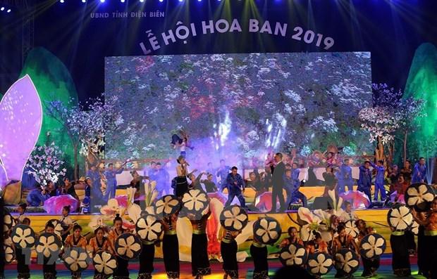 Inauguran festival de la flor de bauhinia en provincia vietnamita de Dien Bien hinh anh 1