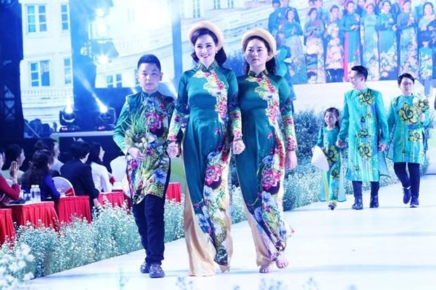 Concluye en Vietnam Festival del traje tradicional Ao Dai hinh anh 1