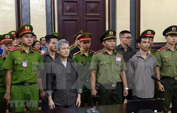 Mantienen condenas a encausados por actos contra la administracion popular de Vietnam hinh anh 1