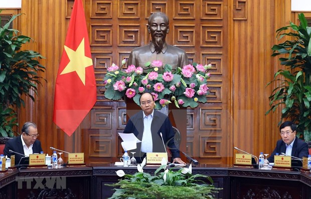 Exhorta premier de Vietnam a acelerar el desembolso de inversiones publicas hinh anh 1