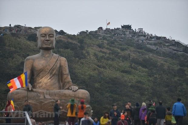 Restauraran en Vietnam sitios religiosos vinculados al rey-monje Tran Nhan Tong hinh anh 3