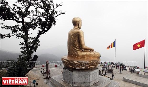 Restauraran en Vietnam sitios religiosos vinculados al rey-monje Tran Nhan Tong hinh anh 4