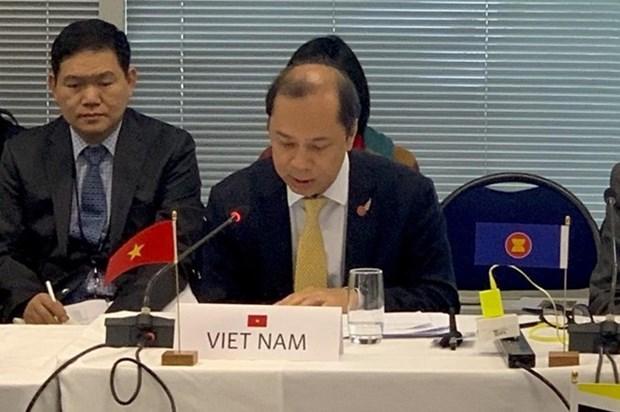 Efectuan XXVI Dialogo entre ASEAN y Nueva Zelanda hinh anh 1