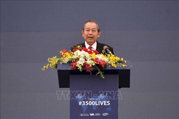 Participa Vietnam en campana global de seguridad vial hinh anh 1