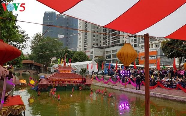 Celebran en Vietnam Festival de Marionetas sobre Agua de Hanoi 2019 hinh anh 1