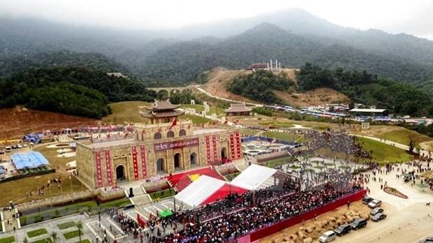 Restauraran en Vietnam sitios religiosos vinculados al rey-monje Tran Nhan Tong hinh anh 2