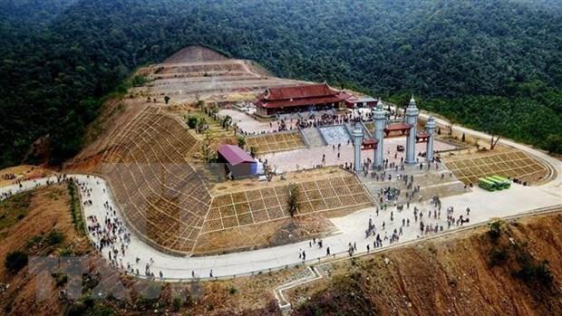 Restauraran en Vietnam sitios religiosos vinculados al rey-monje Tran Nhan Tong hinh anh 1