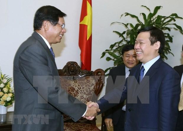 Intercambia Vietnam con Laos experiencias en construccion de modelos economicos colectivos hinh anh 1
