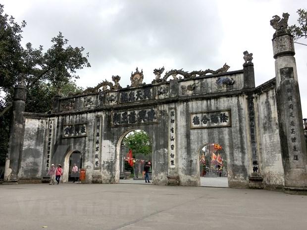Restauraran en Vietnam sitios religiosos vinculados al rey-monje Tran Nhan Tong hinh anh 8