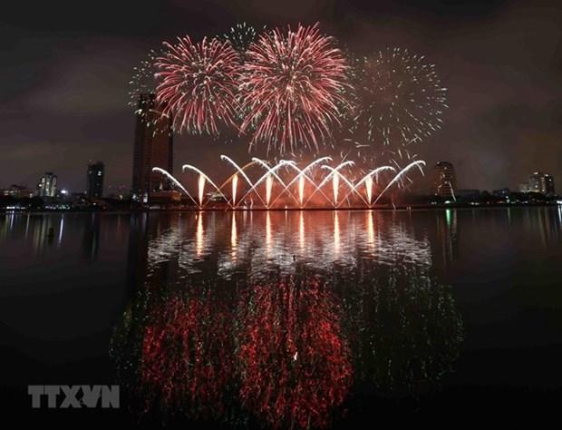Celebraran en Vietnam Festival Internacional de Fuegos Artificiales hinh anh 1