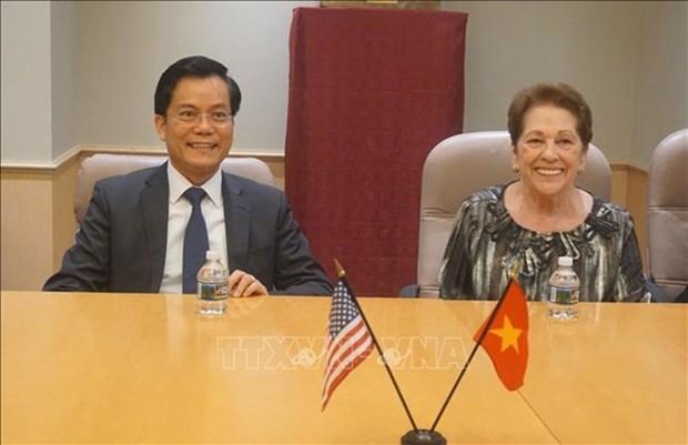 Buscan Vietnam y Estados Unidos curar heridas de guerra hinh anh 1