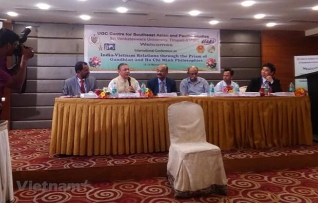 Desarrollan en la India seminario sobre las relaciones con Vietnam hinh anh 1