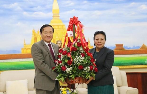Saluda Vietnam aniversario de la fundacion del Partido Revolucionario Popular de Laos hinh anh 1