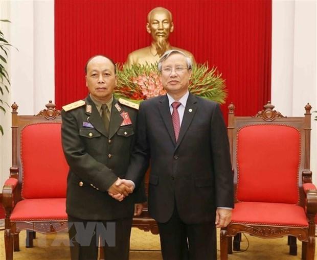 Trabaja Vietnam para fomentar relaciones especiales con Laos hinh anh 1