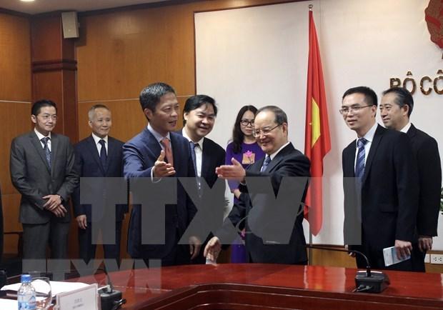 Resalta Vietnam importancia de la cooperacion con provincia china de Guangxi hinh anh 1